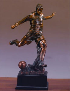 "14.5"" Soccer Player Statue - Trophy - Wall Street Treasures"