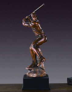 "17"" Baseball Player Statue - Trophy - Wall Street Treasures"