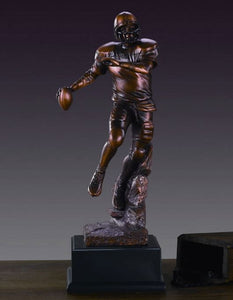 "15.5"" Football Player Statue - Trophy - Wall Street Treasures"