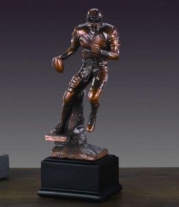 "10"" Football Player Statue - Trophy - Wall Street Treasures"