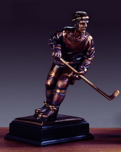 "13.5"" Hockey Player Statue - Trophy - Wall Street Treasures"