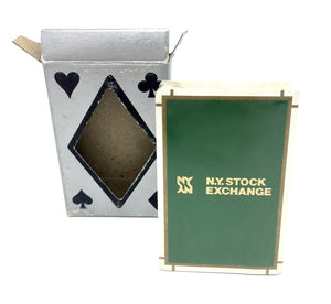 Vintage New York Stock Exchange Deck of Cards - Sealed - Wall Street Treasures