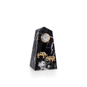Wall Street Marble Quartz Clock - Wall Street Treasures