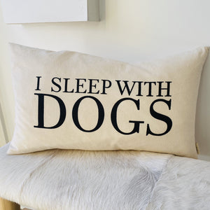 pillow -dogs