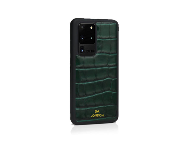 GREEN CROC SAMSUNG CASE
