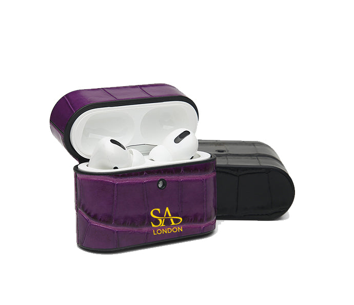 PURPLE CROC AIRPODS PRO CASE