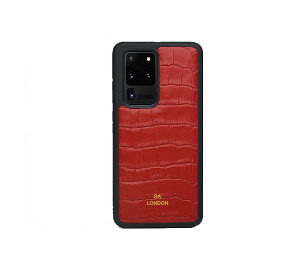 RED CROC SAMSUNG CASE