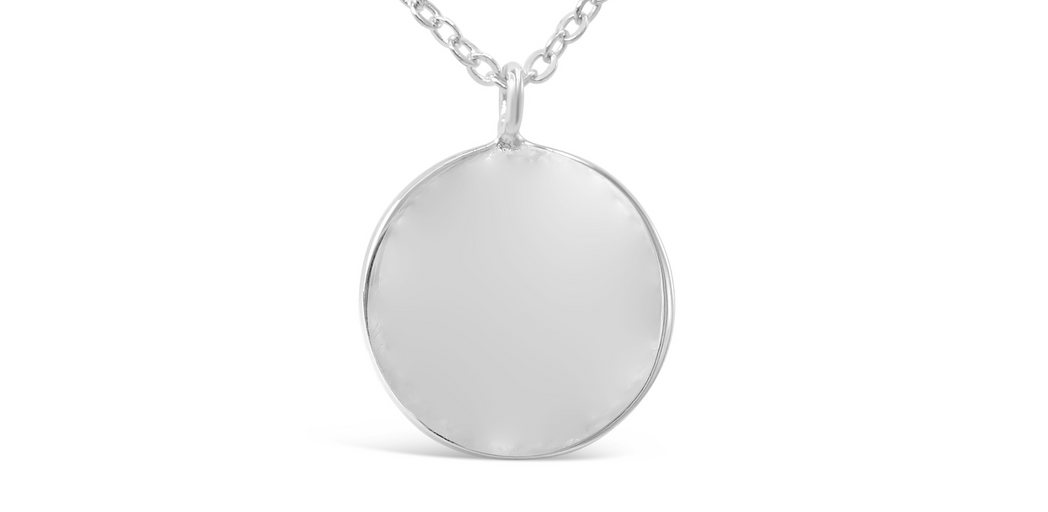 "Necklace ""Disk"""