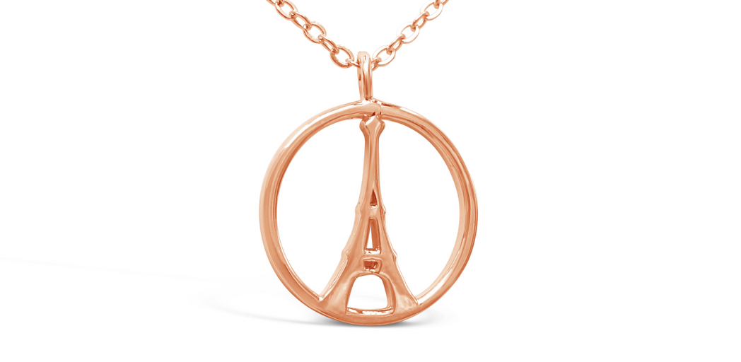 "Necklace ""Eiffel Tower"""
