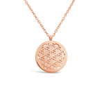"Necklace - ""Flower of Life"""