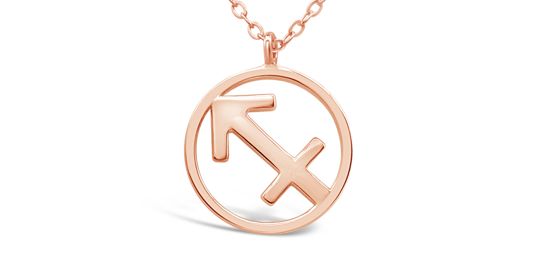 "Zodiac Sign - Necklace ""Sagittarius"""