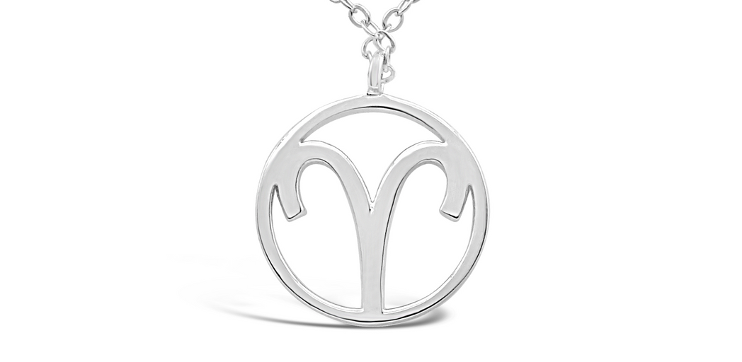 "Zodiac Sign - Necklace ""Aries"""