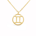 "Zodiac Sign - Necklace ""Gemini"""