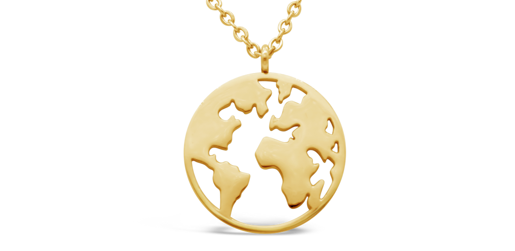 "Necklace ""Earth"""