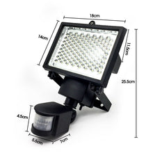 Load image into Gallery viewer, 120 LED Solar Powered Motion Sensor Flood Light