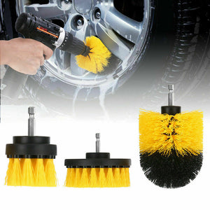 14PC Drill Brush Tub Clean Electric Grout Power Scrubber Cleaning Set Tool Kit