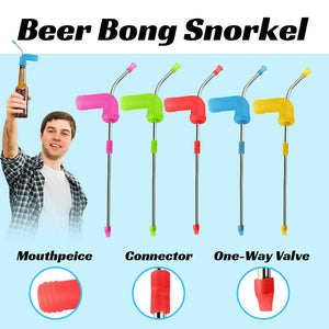Beer Funnel Snorkel Drinking Straw Games Hens Bucks House Party Entertainment