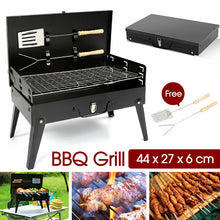 Load image into Gallery viewer, Portable BBQ Grill Outdoor Hibachi Charcoal BBQ Barbecue Tool Set Picnic Camping
