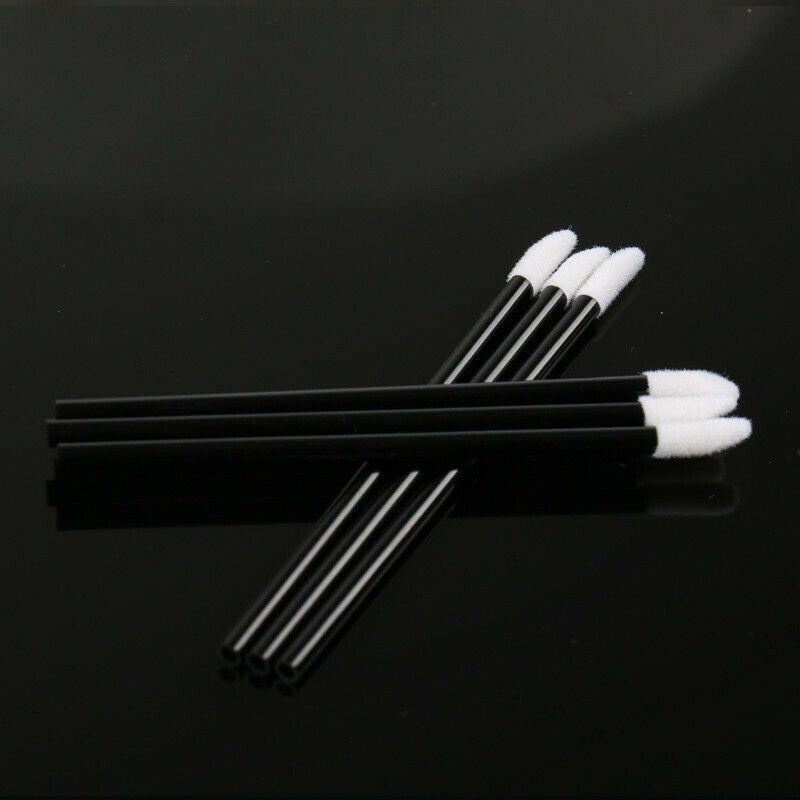 Disposable Lip Brush Lip Wands Gloss Lipstick Applicator Makeup Brushes