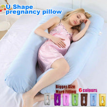 Load image into Gallery viewer, Maternity Pillow Pregnancy Nursing Sleeping Body Support Feeding Boyfriend