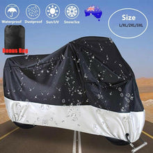 Load image into Gallery viewer, Large Waterproof Outdoor Motorcycle Motorbike Cruiser Scooter Motor Rain Cover