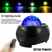 Load image into Gallery viewer, LED Star Projector Galaxy Starry Night