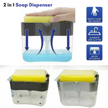 Load image into Gallery viewer, Soap Dispenser Pump 2 in 1