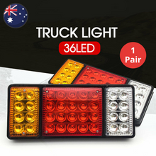 Load image into Gallery viewer, 36 LED Truck Tail Light (1 Pair)