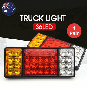 36 LED Truck Tail Light (1 Pair)