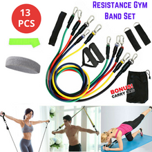 Load image into Gallery viewer, 13 PCS Resistance Band Set