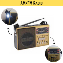 Load image into Gallery viewer, AM/FM/SW 3Band World Radio