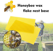 Load image into Gallery viewer, Honeycomb Foundation Sheet Wax Frames Beekeeping Honey Bee Hive Equipment 30PCS