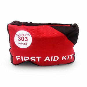 303 Pcs Emergency First Aid Kit Bag ARTG Sticker Survial Camping Family