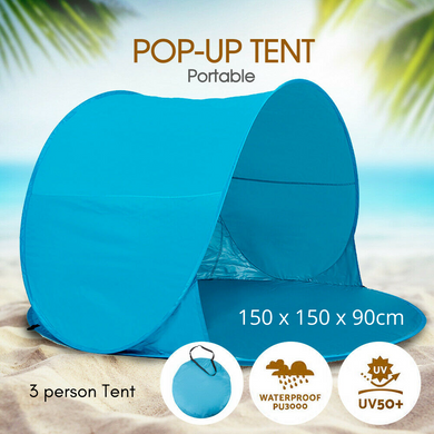Beach Pop Up Tent Sun Shade Portable