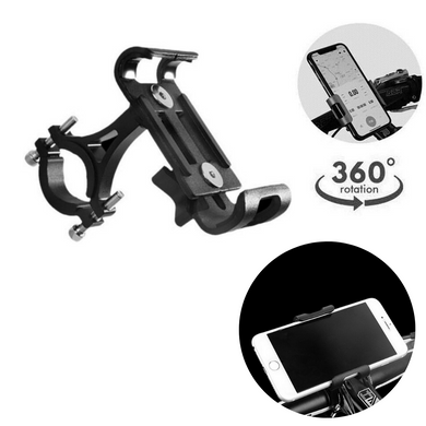 360° Universal Motorcycle Bike Mount Phone Holder