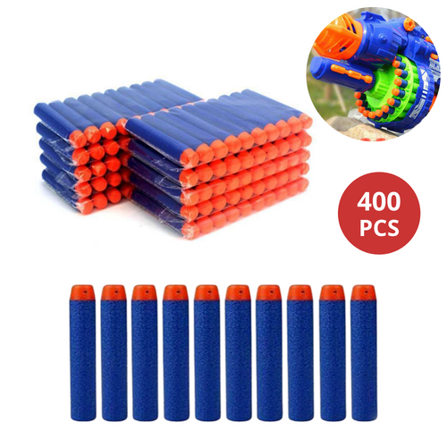 400x Round Head Bullets Refill for Elite NERF N-Strike OZ
