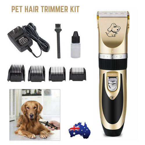 Electric Dog Clipper Grooming Comb Set