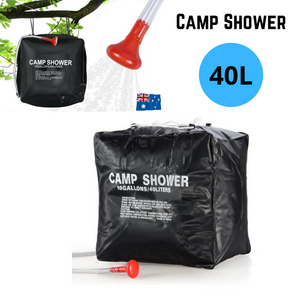 40L Portable Solar Heating Outdoor Camp Shower Bag
