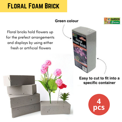 4x Floral Foam Brick Flower Craft