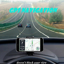 Load image into Gallery viewer, Universal Car GPS Navigation Dashboard Stand Dash Mount Holder For Mobile Phone