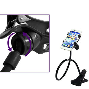 Flexible 360° Clip Mount Stand Holder
