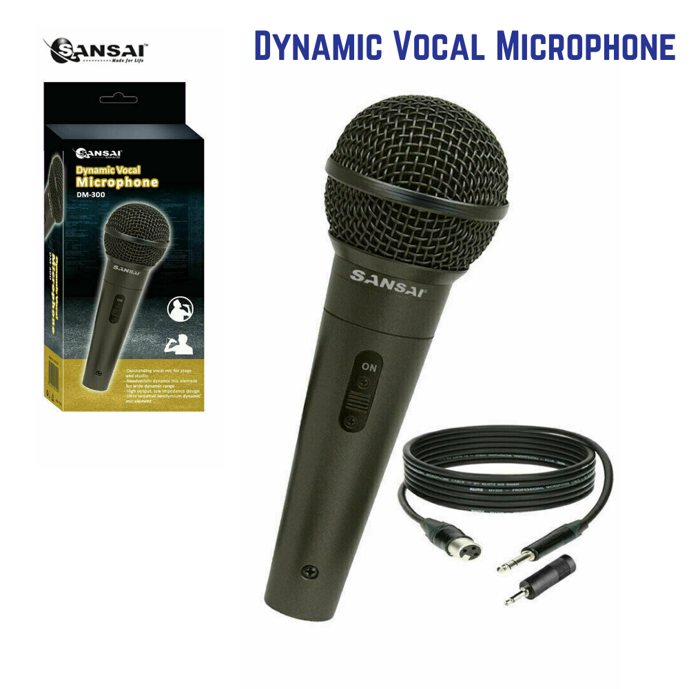 SanSai DM-300 Dynamic Professional Vocal Microphone