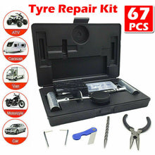 Load image into Gallery viewer, 56PCS  Tyre Puncture Repair  Recovery Kit