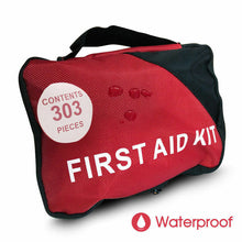 Load image into Gallery viewer, 303 Pcs Emergency First Aid Kit Bag ARTG Sticker Survial Camping Family