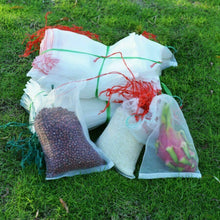 Load image into Gallery viewer, 50 Fruit Net Bags Agriculture Garden Vegetable Protection Mesh Insect Proof