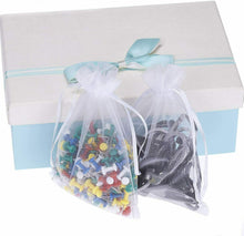 Load image into Gallery viewer, 200X Organza Bag Sheer Bags Jewelry Wedding Candy Packaging Gift 3 Sizes