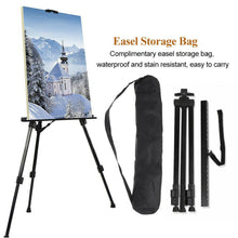 Load image into Gallery viewer, 1.8M Easel Adjustable Tripod Sketch Painting Stand