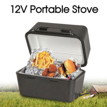 Load image into Gallery viewer, 12V Portable Stove Oven Food Warmer for 4WD Car Truck Caravan Camping 12 Volt