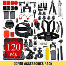 Load image into Gallery viewer, 120pcs GOPRO Accessories Pack GoPro Hero 8 7 6 5