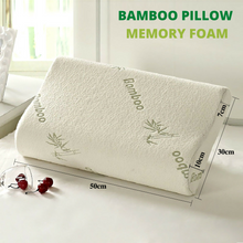 Load image into Gallery viewer, Soft Contour Bamboo Memory Foam Pillow